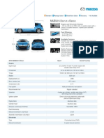 Mazda Specs M3H 2010