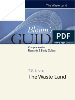 Harold Bloom T. S. Eliots the Waste Land Blooms Guides 2007