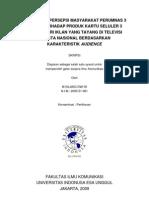 Skripsi Seluler (Analisis Wacana)
