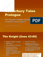 Canterbury Tales Character Analysis