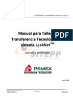 Manual de Transferencia Tecnológica LeakNeat