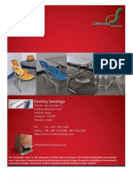 Product Catalog - Profile Page - Destiny Seatings