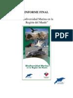 Biodiversidad Marina en La Region Del Maule