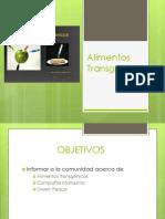 Alimentos Transg Nicos Presentacion Completada