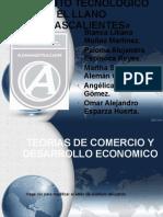 EXPOSICION TEORIAS DEL COMERCIO Y DESARROLLO ECONOMICO.pptx