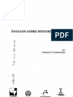 Colmenares, Germán-Ensayos sobre historiografia