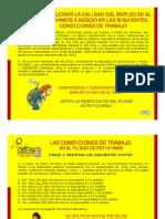 Condiciones de Trabajo en El Pliego de Peticiones Presentado Por Sindesena