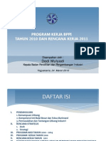 6. Program Kerja 2010rencana Kerja 2011-Bppi