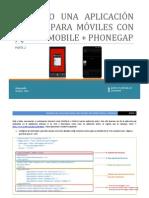 Creando una aplicación multiplataforma para móviles con jquery y phonegap - parte 2