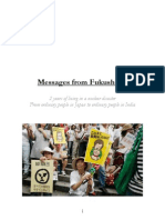 Messages From Japan to India on Fukushima anniversary