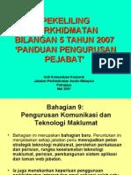 Bhg 9 Pengurusan Komunikasi Dan Teknologi Maklumat