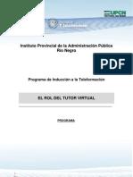 Rio Negro Programa El Rol Del Tutor Virtual2