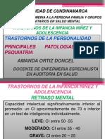 PATOLOGIAS PSQUIATRICAS