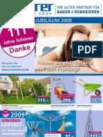 Max Schierer - Frühjahrsaktion 2009