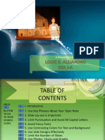 Tips of Business Presentation