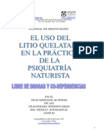 Manual Para Tratamiento Natural Psiquiatrico de Deficit de Atencion