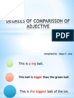 Degrees of Comparisson of Adjective