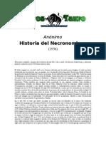 Anonimo - Historia de Necronomicon