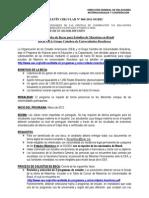 BOLETIN CIRCULAR Nº 060-2011