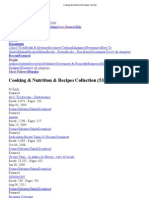Cooking & Nutrition & Recipes - Scribd Collection