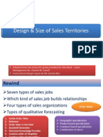 Designing Sales Territories