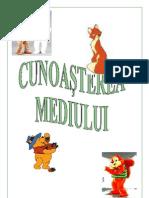 Proiect didactic- Cunoasterea Mediului