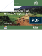 The Ecosystem Approach - 5 Steps to Implementation