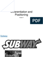 Chap # 7 Differentiation and Positioning