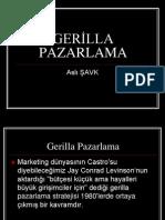 GERİLLA PAZARLAMA
