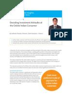 Nielsen India Online Shopping Habits