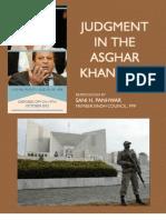 Asghar Khan Case Judgment