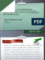 penerapan psak 50-55 (revisi 2006)
