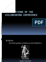 Complications of the Childbearing Experience