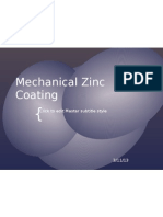 Mechanical Zinc Coating
