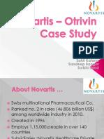 Novartis – Otrivin Case Study