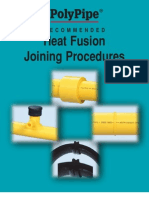 HDPE -PVC Heat Fusion Joining Procedure
