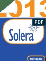 Solera Novedades 2013