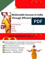 Mcdonalds in india