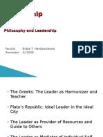 7.Philosophy & Leadership