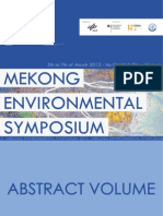 Mekong Environmental Symposium 2013 - Abstract Volume