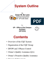 CQC SYSTEM OUTLINE FOR CAMPUS BUILDINGS