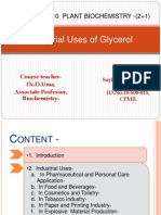 1Industrial Uses of Glycerol-2003
