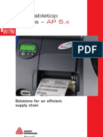 AP 5 X Series Brochure