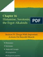 Histamine, Serotonin and Ergot Alkaloids