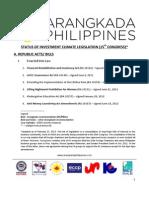 Legislative Priorities - February 2013