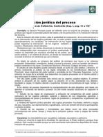 La regulación jurídica del proceso
