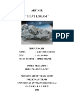 Sifat-sifat Logam
