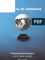 Jurnal de Chir 2012 Vol 8 Nr 1