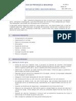 FPS 14 - Movimentação de Terras - Escavadora Mecânica Ed02