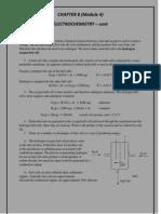 Electrochemistry - Cont Module 4 STPM